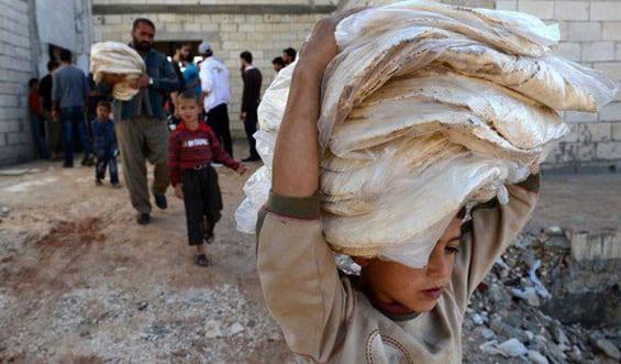 تراجع الأسر السورية التي تعاني انعداماً في الأمن الغذائي الى 29%
