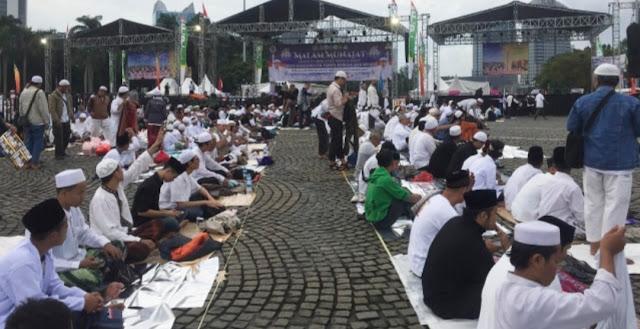 Tak Risau dengan Munajat 212, Tim Jokowi: Massanya Itu-itu Saja