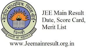 JEE Main  Result – Date, Score Card, Merit List
