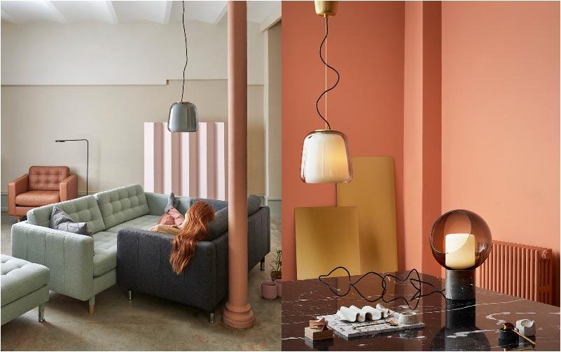 nuovi divani e lampade IKEA
