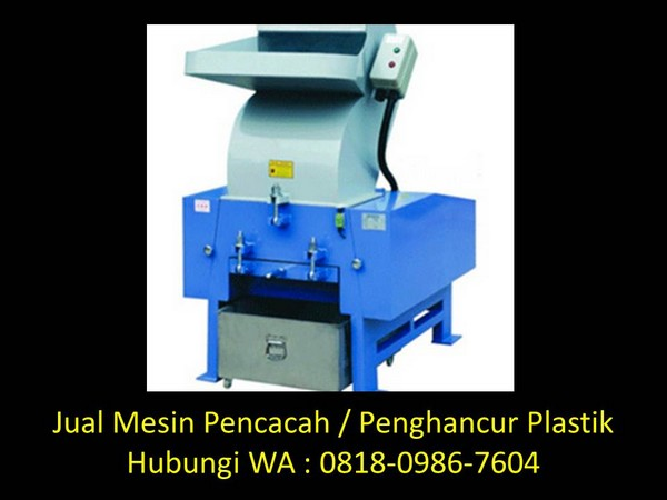 mesin giling plastik botol di bandung