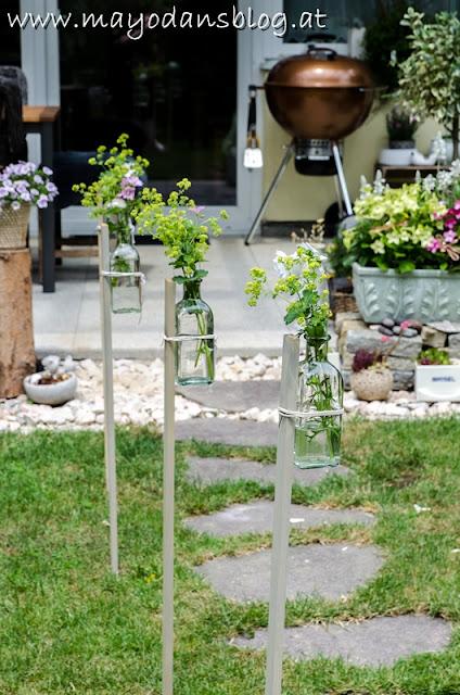 Dekoration Gartenpary