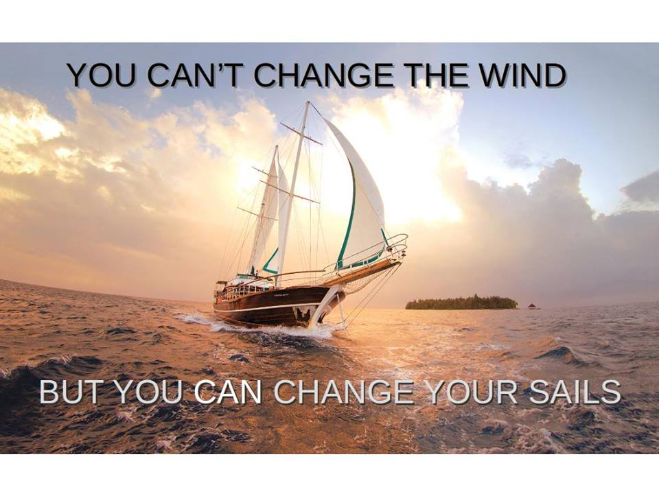 Stretch To Succeed: You can\'t change the wind, but you can change ...