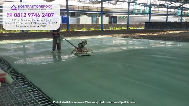 Jasa Floor Hardener Murah Magelang