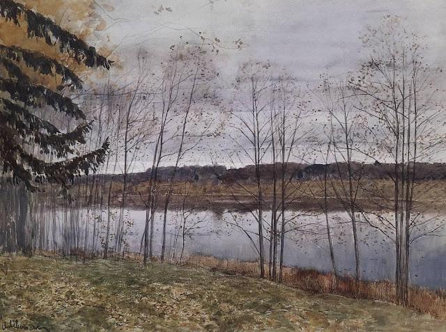 Исаак Ильич Левитан - Осень. 1896
