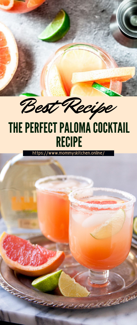 THE PERFECT PALOMA COCKTAIL RECIPE #healthydrink #easyrecipe #cocktail #smoothie