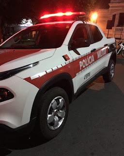 Em Cuitegi, mulher é presa por policiais do 4º BPM depois de agredir o marido