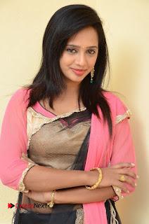 Actress Nakshatra Pictures at Thalimpu Multi Cuisine Restaurant Launch   0051