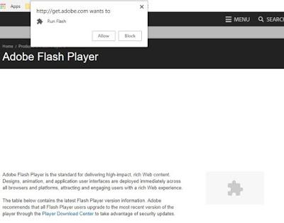 how do i unblock adobe flash player on chrome