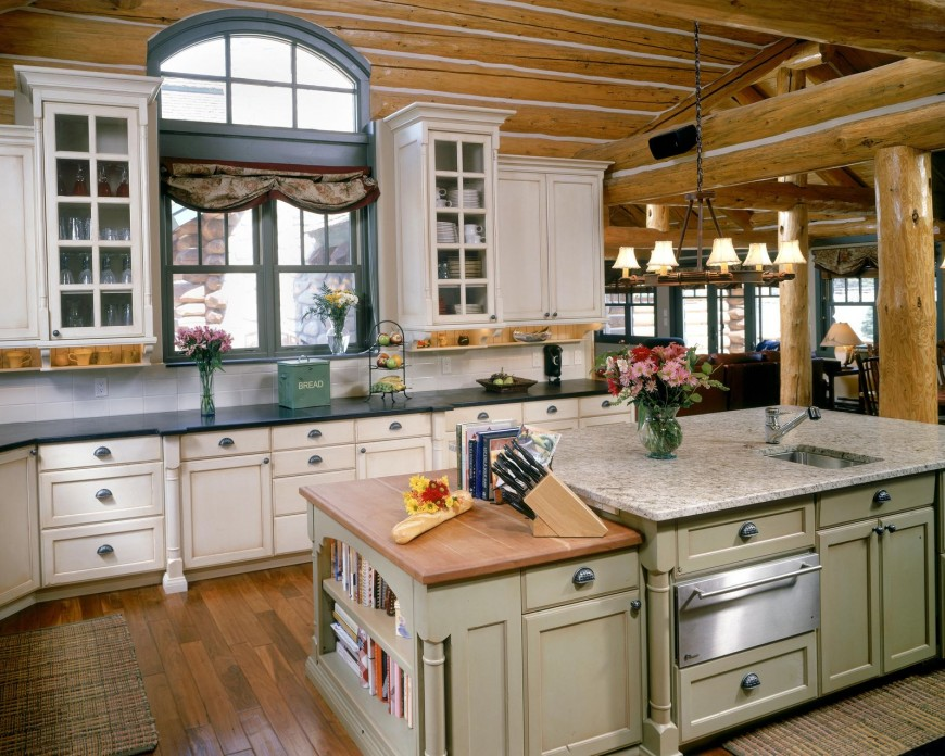 French country kitchen design ideas windows home and for Cute country kitchen ideas