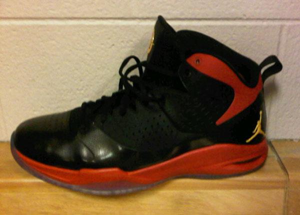 "1c604848d05798 THE SNEAKER ADDICT  Jordan Fly Wade – Miami Heat ""Away"" PE Sneaker"
