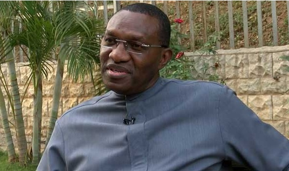 Senator Andy Uba Threatens To Sue Heritage Bank Over Staff's Protest, Demands N5bn For Damages