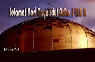 Selamat Hari Raya Idul Adha 2017 1438 H