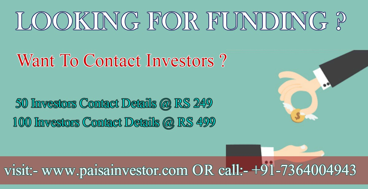 Angel investor contact list