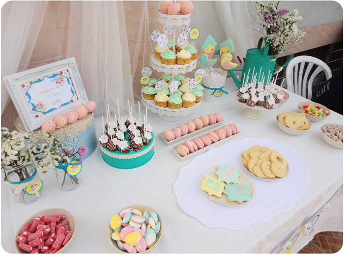 Nunca es demasiado dulce la mesa dulce de daniela kit de for Mesa dulce para baby shower