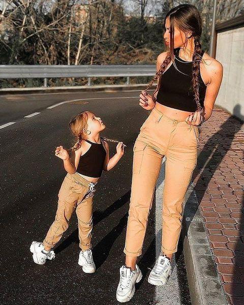 outfits identicos mama e hija