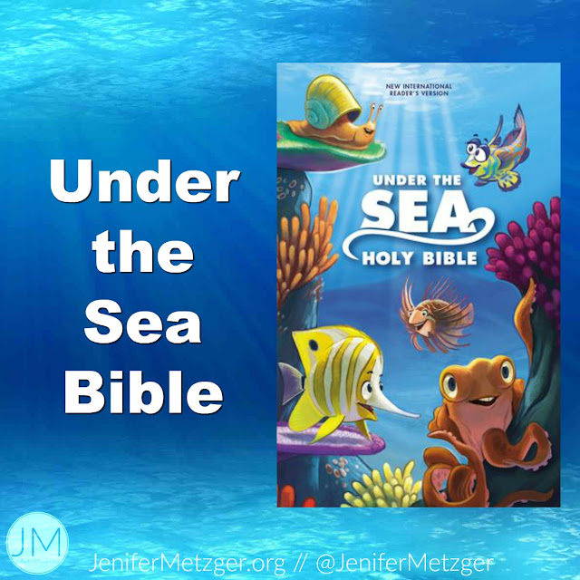 Review of the Under the Sea Bible for kids.