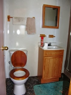 Not a composting toilet