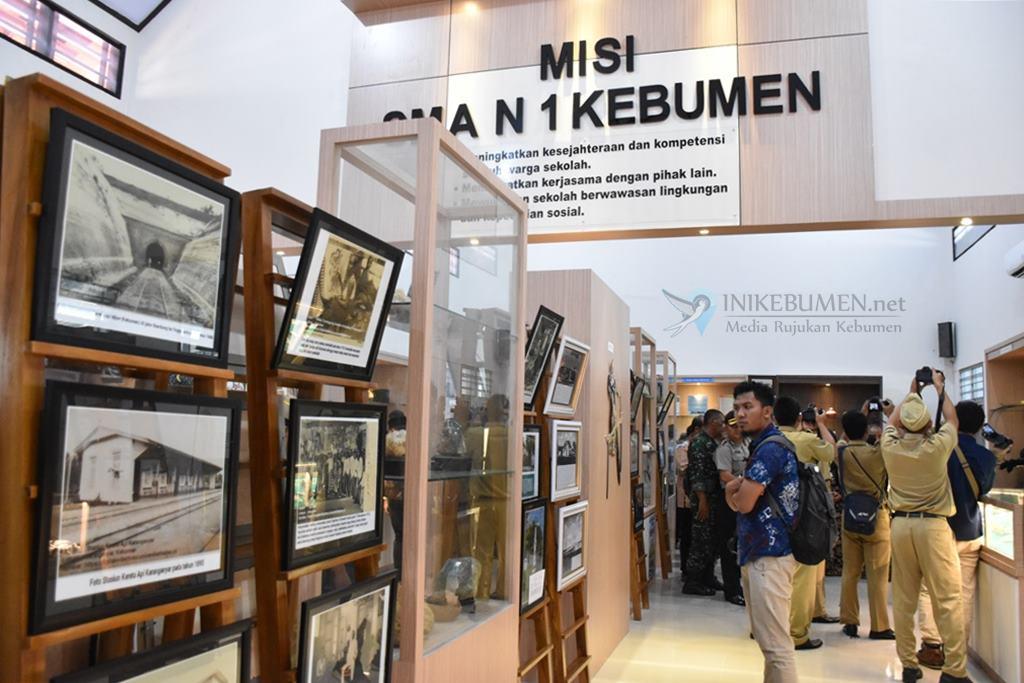 Galeri Seni SMAN 1 Kebumen, Pojok Geopark Pertama di Kebumen