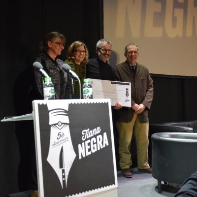 Lliurament Premi Memorial Agustí Vehí de Novel·la Negra