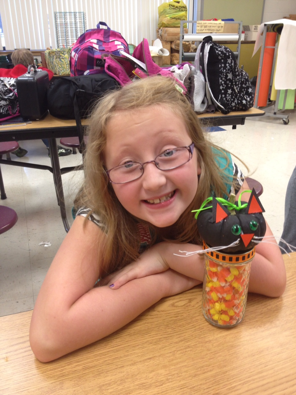 Girl Scout Troop 583 Halloween Craft