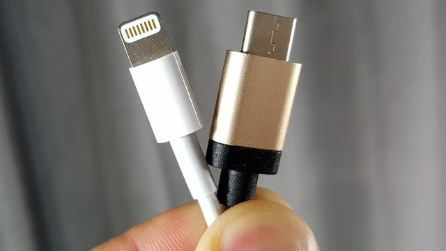 what is the difference between a usb-c cable and a usb-light cable, whichever is better