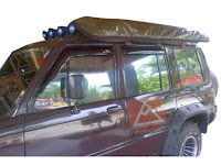 Tenda Awning Mobil Offroad type Extension