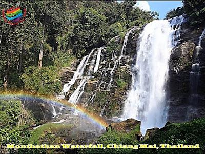 Monthathan Waterfall, Chiang Mai, Thailand