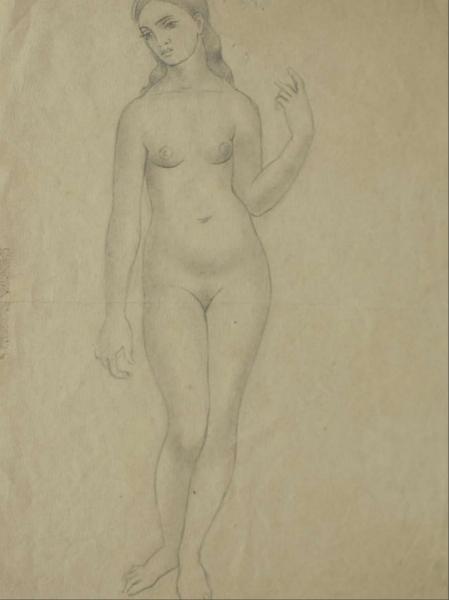 Dibujo sin titulo, 1922