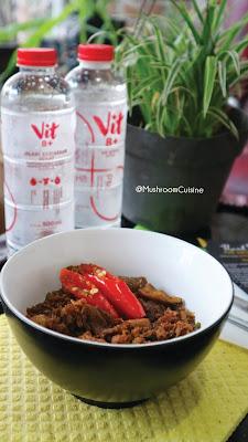 Minum Vit 8+ dan makanan bergizi