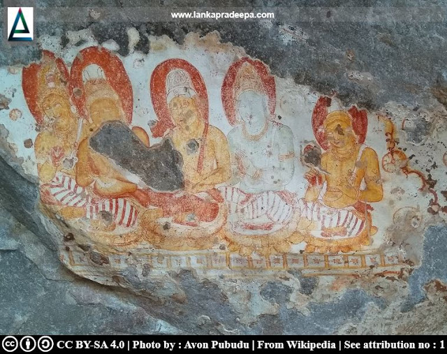 Pulligoda Galge paintings