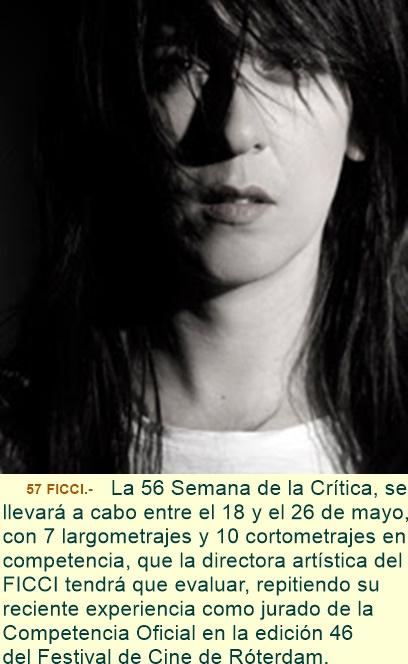 Diana Bustamante, directora artística del FICCI, miembro del jurado de la Semana de la Crítica del