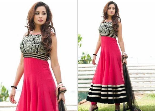 Simple Wedding Dress Quotes: New Stylish Designer Floor Length Anarkali Wedding Dresses