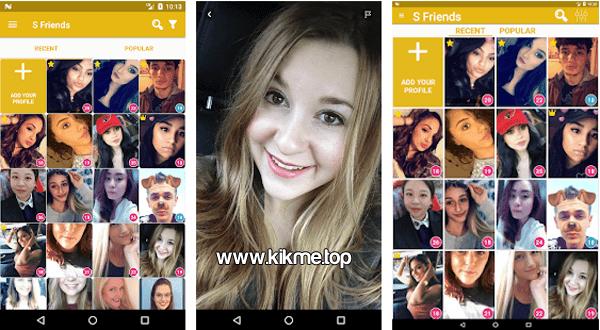 S Friends for Kik