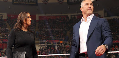 Stephanie Shane McMahon Raw Extreme Rules