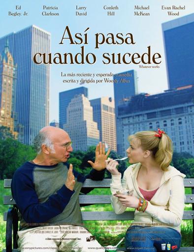 Ver Así pasa cuando sucede (Whatever Works) (2009) Online