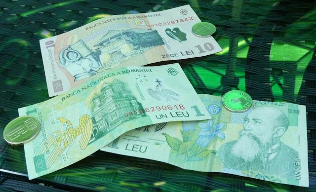Rumänisches Geld - Lei und Bani