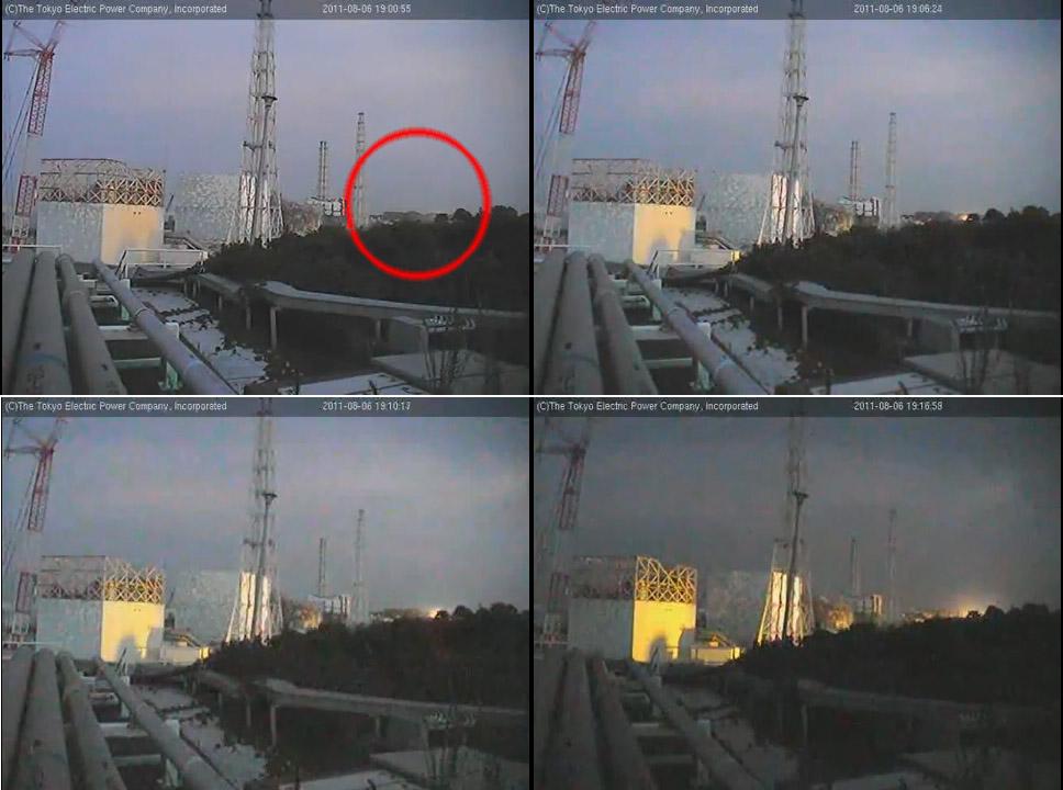 ☢ Fire and Smoke at Fukushima Daiichi Nuclear Power Plant
