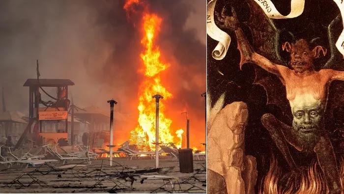 Η Ιταλία υπέστη τις μεγαλύτερες καταστροφές από τις δασικές πυρκαγιές το 2021  επειδή υποστήριζαν τον φασίστα Σαλβίνι?