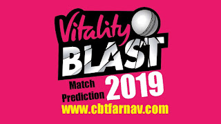 T20 Blast 2019 Worcestershire vs Nottinghamshire Today Match Prediction