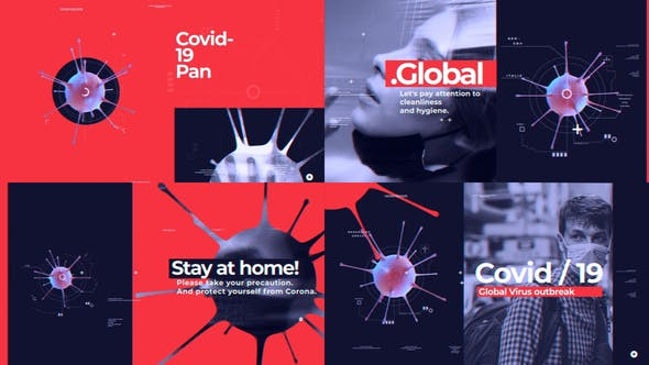 Covid-19 Pandemic Opener[Videohive][After Effects][26153711]