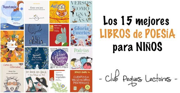 mejores libros de poesía infantil para niños, recopilación poemas versos
