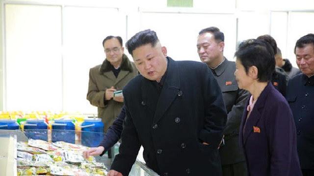 Kim Jong-un menginspeksi Pabrik Kimchi Ryugyong