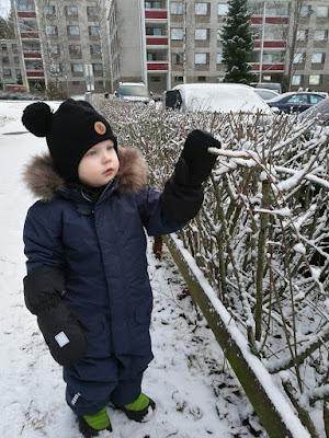 Suomi 100v ja lunta!