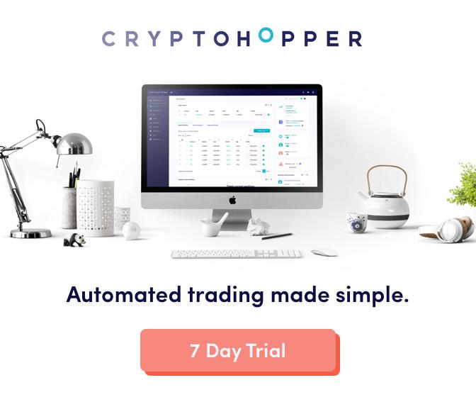 احصل على أفضل روبوت التداول الآلي المشفر مجانا لمدة 7 ايام مع Cryptohopper