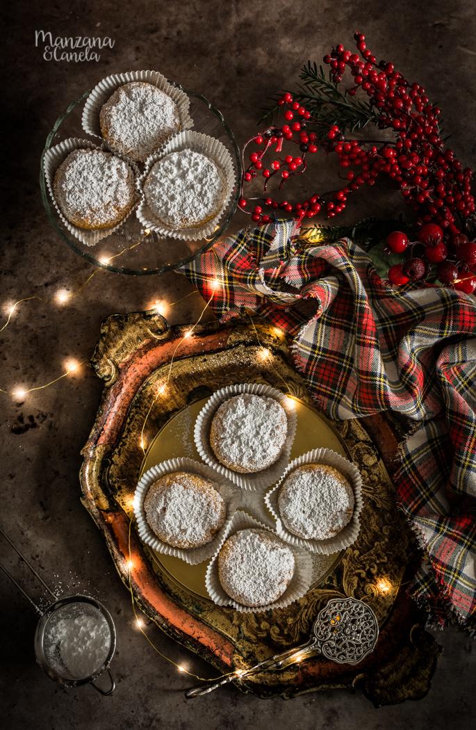 Marquesas de calabaza. Receta de Navidad sin gluten