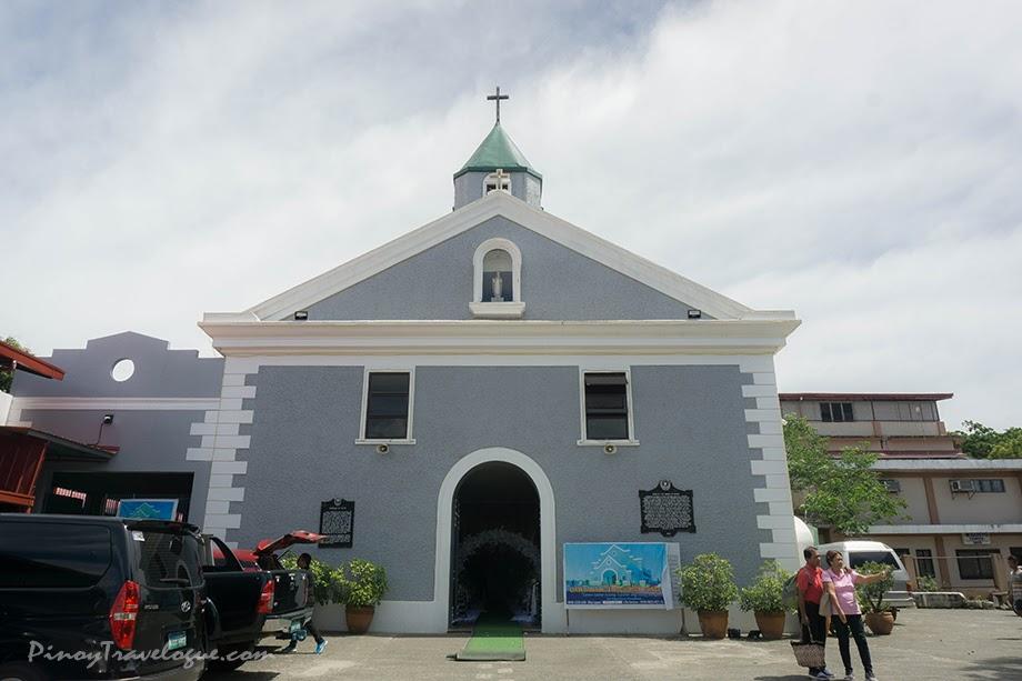 Baler Church's facade
