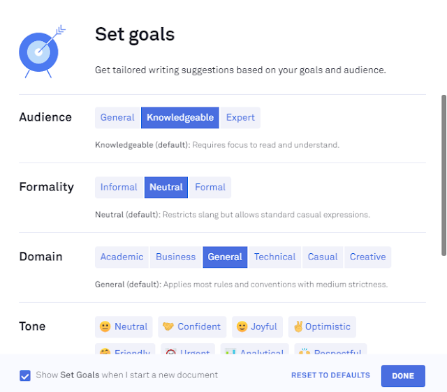 How to use Grammarly? Grammarly Goal