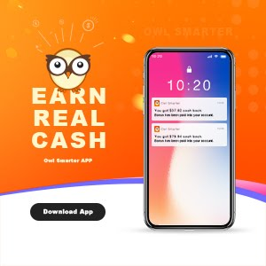 Owl Smarter Cash Back App