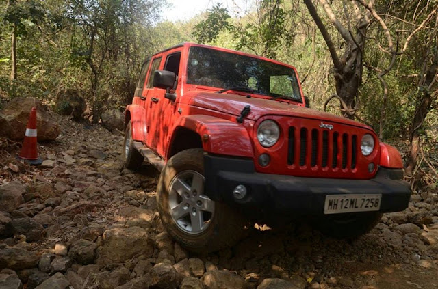 Jeep Wrangler Unlimited petrol India